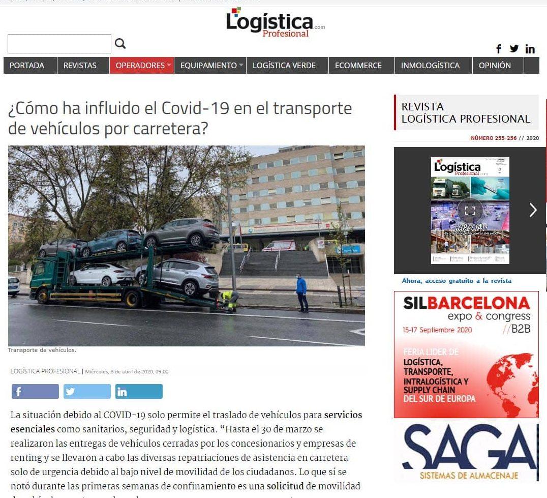 Empresa de Logística profesional en Madrid